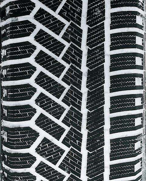 ассиметричный рисунок протектора