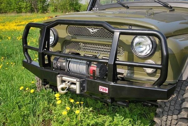 Какой выбрать силовой бампер на Уаз 469? Или сделать самому?