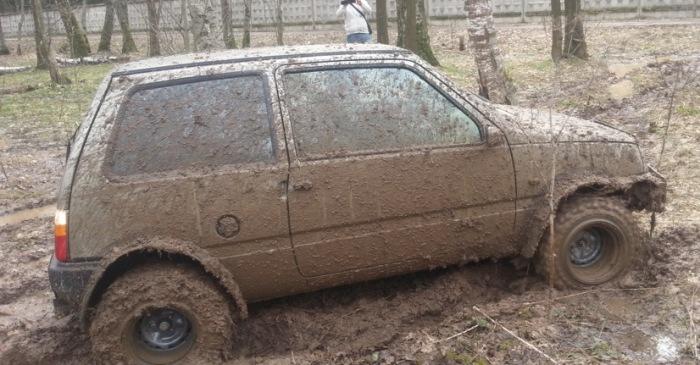 ока в грязи