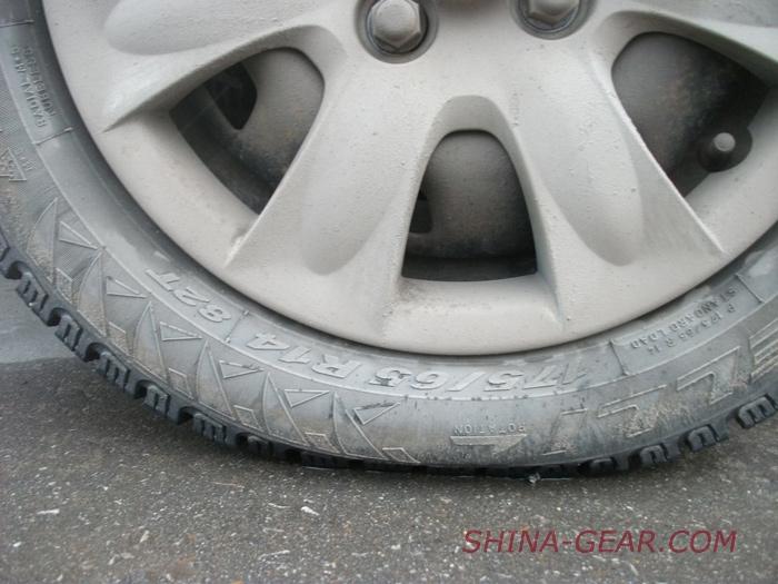 размер шин на гетц